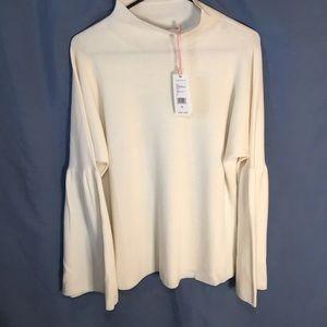 Merino wool bell sleeved sweater -beautiful